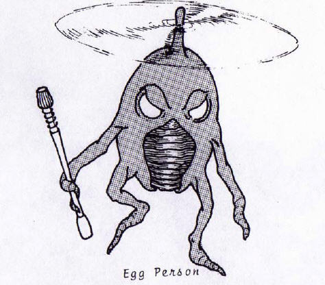 Egg Person From Venus